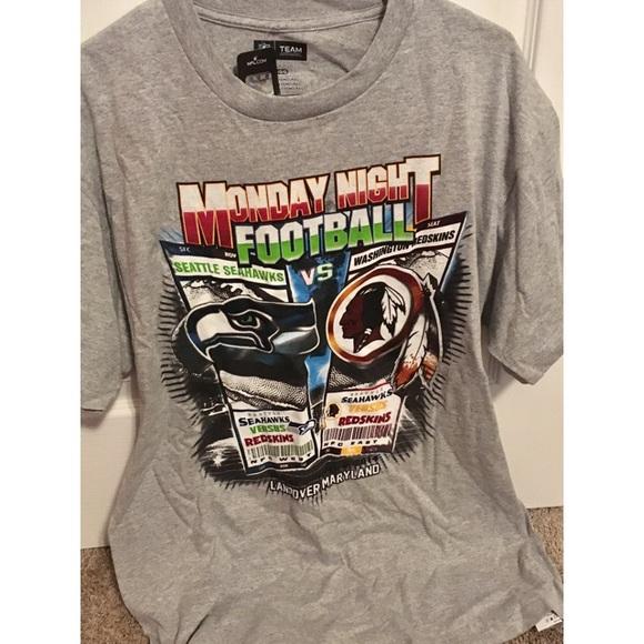 NFL Apparel NWT Men s Seahawks vs Redskins T-Shirt 6ff5d55d6